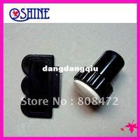 Nail Art Stamping Machine Nail Art Equipment Zhejiang China (Mainland) Wholesale-DIY Nail Art 2 Side Stamping Stamp Tools Scraping Knife Set nail stamp kit High Quality Silica gel407