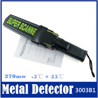 ru - to RU Professional Portable Super Scanner Handheld Metal Detector MD B1 new top sale