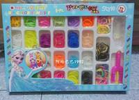 8-11 Years Multicolor Rubber Loom Bands set Fun DIY Loom Rubber Kit Colorful Bracelets Charm Bracelet