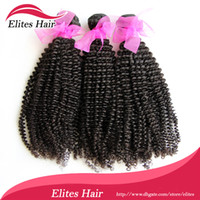 elites hair - Queen hair products elites hair Top quality A Grade quot quot virgin Brazilian kinky curly hair weave In stock factory price BH503