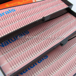 Wholesale 3 Trays mm mm mm C C Lash Curl Black Individual Silk False Eyelashes Eye Lash Extension Kit Set FK