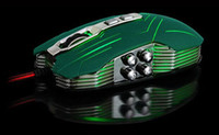 2000 Wired Mini Best 1pc Mouse New arrival 9D Sword Stock Master X9 2400DPI Optical wired Gaming Game mouse for DotA FPS Green Free Shopping