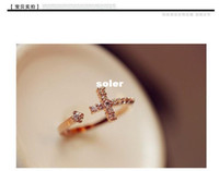 Band Rings Yes Wedding Bands Star designer classic charm Cross relief opening opal beads jewelry lovers heart wedding ring B19