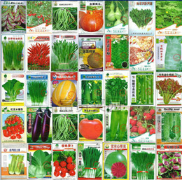 wholesale retail 1000 seeds 30 kinds of different vegetable seed family potted balcony garden fruit seeds four seasons planting