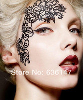 Wholesale Minimum order Sticking stickers exquisite decorative pattern fashion new arrival art paper cutting mt01 False Eyelashes
