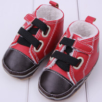 Wholesale First walkers classic baby shoes new winter warm baby toddler shoes soft soled shoes baby boy shoes drop shipping XZ023