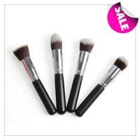 H1135A cheap makeup - Cheap makeup brushes PC Professional Ailunce Flat Top Synthetic Kabuki single cosmetics bamboo make up brush bamboo H1135A