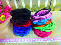 Wholesale 2014 Autumn Women Hair Rubber Bands candy colored Ladies Fashion Hair Jewelry
