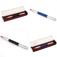 Wholesale Pen Type Scriber Glass Cutter Pocket Scribber Blue and Black Hot