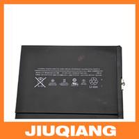 Wholesale 100 Guarantee mah Original Replacement Built in Battery For IPad Air Batterie Batterij Bateria Batteries High Quality DHL Free Ship