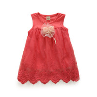 TuTu Summer A-Line 2014 new summer childrens clothing girls dress Korean children small girls dress princess dress wholesale