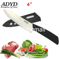Wholesale SKU188 ADYD quot Ceramic Knives Health Eco friendly Zirconia kitchen Fruits Ceramic Knives for Modern Kitchen black