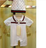 Boy baby jumper - rompers hats NEW baby sets romper boy children babysuit boy short sleeve jumper summer B0712