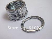 Wholesale Free ship Bulk piece mm Key Chain Link Connector Findings Keyring Key split ring
