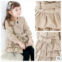 Wholesale 2014 New Fall And Winter Style Baby Girls Charming Cardigans Fashion Korean Style Coat Modern Design Catch People s Eyes