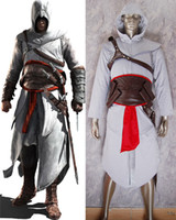 Wholesale Hot sale Assassin s Creed Altair cosplay costume Altair cosplay outfit Halloween costume for Kids Adult Fans