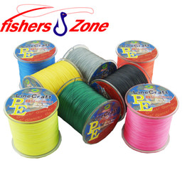 500M fishers zone Strong Japanese Multifilament fishing line PE Braided Fishing Line 6 8 10 20 30 40 50 60 80 110LB fishing line