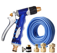 Car Washer Copper 380 Copper Spray Gun for Car Washing 15M Water Pipe