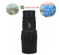 Yes OEM  16x52 Zoom In 66M 8000M Field Monocular Telescope Sports Hunting Concert Spotting Scope with Green Film