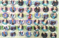 Wholesale 2014 New Arrival Hot Sale Sheets Frozen Cartoon pins badges cm Round Brooch Badge Kids Toy Kids Party Favor