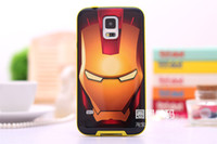 Wholesale Korea Hornet For Samsung S5 Galaxy Phone Shell Mobile Phone Sets Of Soft Silicone Shell Drop Resistance Fresh Sprouting Cartoon
