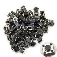 other 27372  100pcs Tactile Push Button Switch Momentary Tact 6x6x5mm DIP Through-Hole 4pin