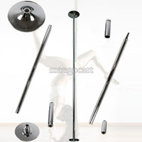 Accessories Silver  New Portable Fitness Exercise Exotic Stripper Strip Spinning Pole Dance Dancing NEW #005 14987