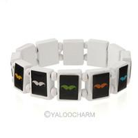 Charm Bracelets Unisex Fashion 6pcs Fashion Beard Wooden Bracelet Bangle Stretch Unisex European Hip-hop New 261841