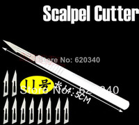 scalpel - set No Scalpel Burin Maintenance Chisel Handle blade Application PCB Circuit board phone Membrane407