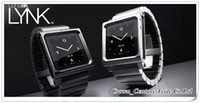 Wholesale MOQ LunaTik Lynk Watch Band Wrist Aluminum Case For iPod Nano G th HK China Post Air mail