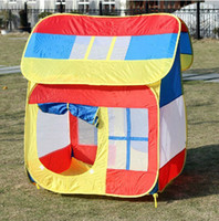 Tents Animes & Cartoons Polyester Free Shipping High Quality House Design Baby Tent Children's Educational Indoor&Outdoor Fun Toy Play Tents Great Gifts For Kids