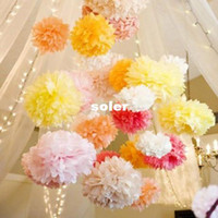 Wedding paper pom poms - cm inch Tissue Paper Pom Poms Wedding Party Decor Craft Paper Flowers Wedding