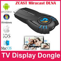 TV Stick Yes Not Included V5II EzCast WiFi TV Dongle Display Receiver For IOS Android Windows WiFi Display Airplay Miracast iPush DLNA TV Adapter