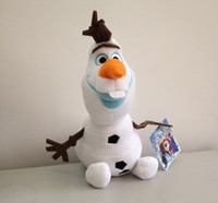 Unisex 8-11 Years Anime & Comics Promotion 7.9 Inches 20cm Frozen Olaf Plush Toys Cartoon Movie Brinquedos Cotton Stuffed Lovely Dolls 2014 Brand New HOT EMS