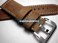 Wholesale PAM111312 Extended Edition Watch Band For Panerai Handmade Leather Material Watch Band mm Watchbands 407