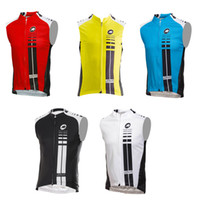 Men clothing new jersey - Low price dropship New Assos sleeveless bike jersey cycling clothing vest Mayo wicking breathable colors