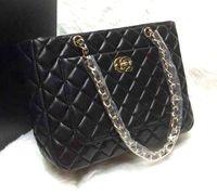 Wholesale Handbags Shoulder Bags Shopping bag Purse Hardware Oxhide New Women Bag Ladies Handbag Black Fashion Accessory Cheap Woman Handbags