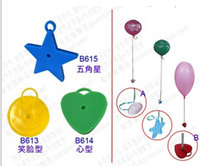 Multicolor balloons weight - Balloon Weight Heavy Blocks Prop Ballon Pendant Mixed Three Patterns freeshipping