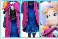 Wholesale New Hiigh quality Frozen Doll Princess Elsa Anna Plush Doll Brinquedos Kids Baby Soft Toys Girls Dolls Frozen Plush Toys