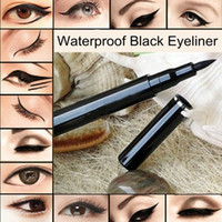DLME585 95000 Liquid Wholesale 2PCS Set Makeup Waterproof Black Liquid Eyeliner Pen Pencil for Eyes.Brand New Eye Liner. 100% TOP Quality
