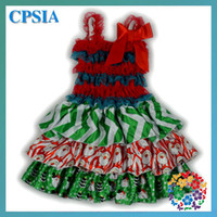 Wholesale MN Xmas Items for Baby HOT newborn christmas dresses latest christmas tree dress baby fashion girls snowflake dress