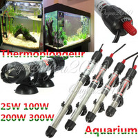 Wholesale 25 W Adjustable Water Thermostat Heater For Aquarium Fish Tank