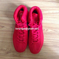 Wholesale Brand Rare Olympics Men and Women Fluorescent Green Wrestling Volts Shoes Sports Training Shoes Size