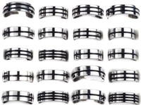 Wholesale Stainless Steel Rings X Fashion Finger Ring Hot Steel Ring Jewelry Fit Men SR22