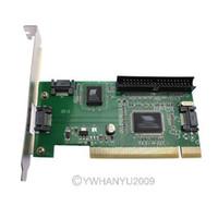 Wholesale Brand New PCI Port SATA IDE Controller RAID Card Adapter NEW