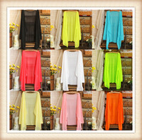 V-Neck air conditioning clothes - 10 Colors new female summer bask in clothes The air conditioning garment Long sleeve bask in thin cardigan sweater coat