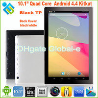 Wholesale ALLwinner A31S Quad Core Tablet New Slim inch Pad G RAM G GB GHz Bluetooth HDMI D Game HD screen Dual Webcam MID