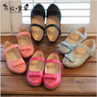 Summer beatiful shoes - Hot Sale Autumn Korean Style Princess Baby Gilrs Shoes Beatiful Butterfly Bow Party Shoes Toddler s Party Shoes