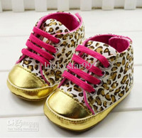 Wholesale Hot The lowest trade soft bottom leopard baby shoes