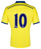 2014- 15 CFC Yellow Away Thai Quality Soccer Jerseys, Thailand...